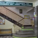 Schody prowadzące na I piętro