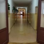 Wejście na korytarz na II piętrze