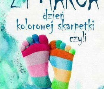 Plakat 21 marca, dzień świadomości Zespołu Downa